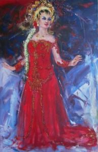 lukisan ekspresionisme di atas kanvas 01